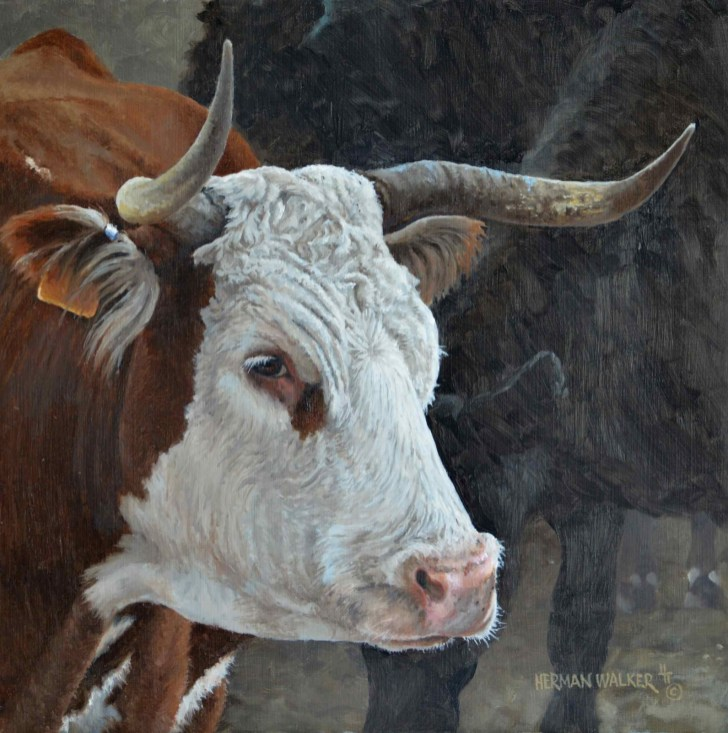 Ranch Mama by Herman Walker is one of the selected art works in the Oil/Acrylic division for the 2020 Bosque Arts Center Art Classic.