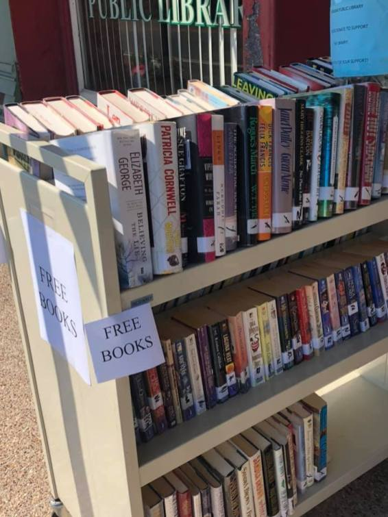After culling their inventory, the Meridian Public Library offers free books to the public.public