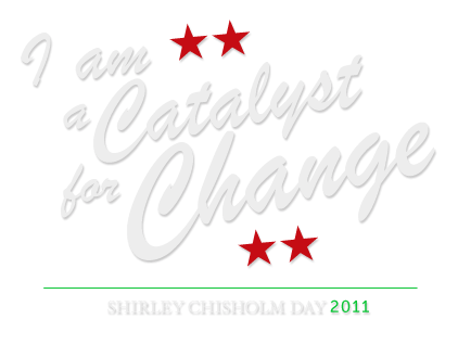 Shirley Chisholm Day 2011, November 29