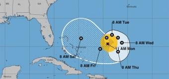 Meteorología vigila el huracán José y zona de aguaceros y tormentas eléctricas