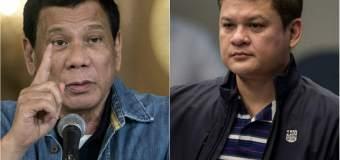 El Presidente de Filipina da orden de matar a su hijo si se comprueba es narco