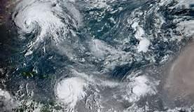 Meteorología  informa Huracán María continúa desplazándose hacia el Noroeste