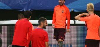 Reciben a Messi como 'extraterrestre' en la ciudad de CR7
