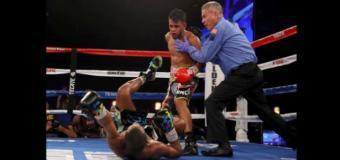 Rojas noquea al dominicano Marrero y se corona campeón mundial
