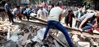 Hoy sábado hubo ¡otro terremoto en México!