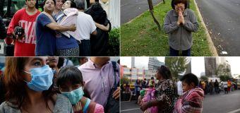 Los mexicanos son presas de la tribulación y el pánico por los terremotos