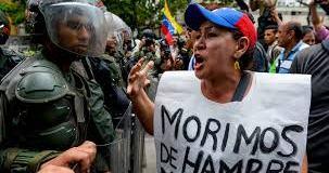 El hambre está acabando conlos venezolanos