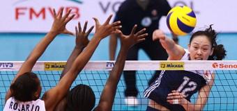 RD apabulló a China este jueves en Mundial de Voleibol sub-23