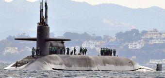 Estados Unidos envía submarino nuclear USS Michigan, a Corea del Sur