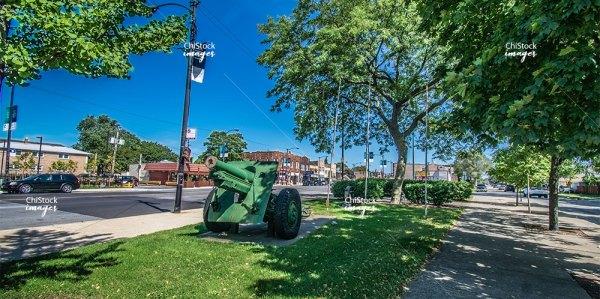 Veterans Memorial, Archer Heights, Chicago