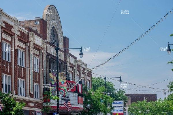 Portage Park Portage Theater Milwaukee Avenue