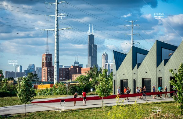 Eleanor Boathouse at Park 571 Bridgeport Chicago