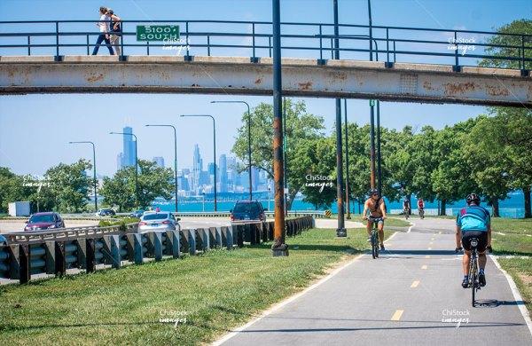Lake Shore Drive Hyde Park Chicago Loop Skyline