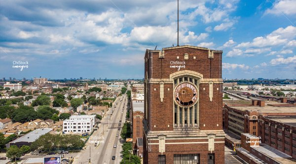 McKinley Park Central Manufacturing District Clock Tower