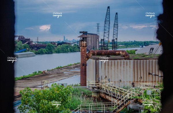 Industrial Landscape South Deering Chicago