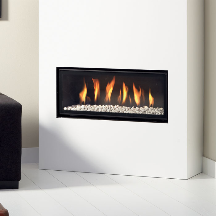 Gas Fireplace Types Flueless Gas Fires - Glass Fronted - Chiswell Fireplaces