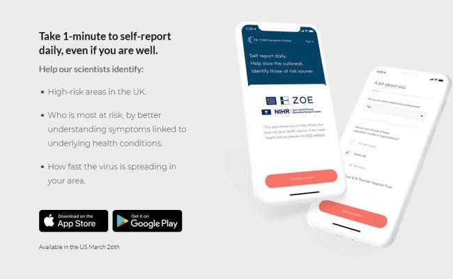Covid 10 Symptom Tracker App Aids Research Chiswickbuzz