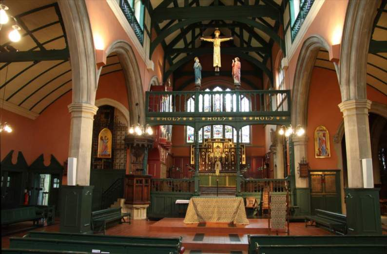 Inside St Michael & All Angels