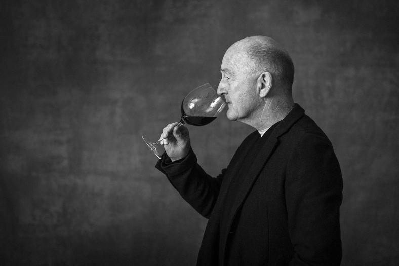Oz Clarke Portrait Photograph by Simon Buck 2015