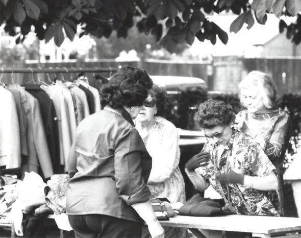 50 years of Green Days 1975 second hand clothes