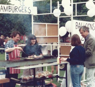 50 years of Green Days 1981 hamburgers 30p