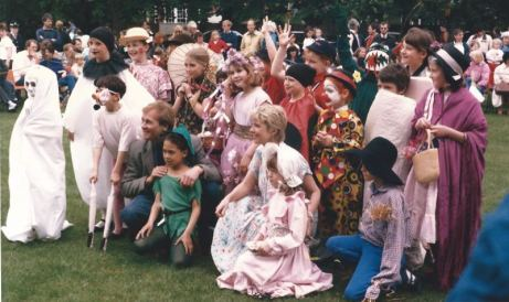 50 years of Green Days 1987 fancy dress