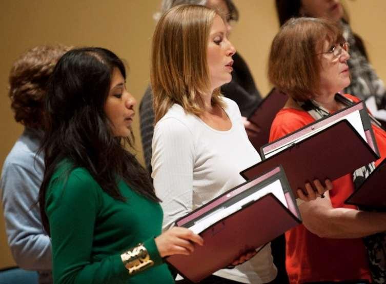 Addison Singers Practice