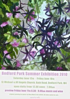 Bedford Park Summer Exhibition 2010
