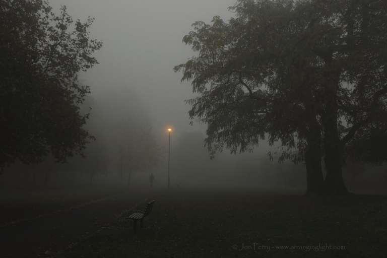 Chiswick Calendar Photographers Jon Perry Dark and Foggy Enlightenshade