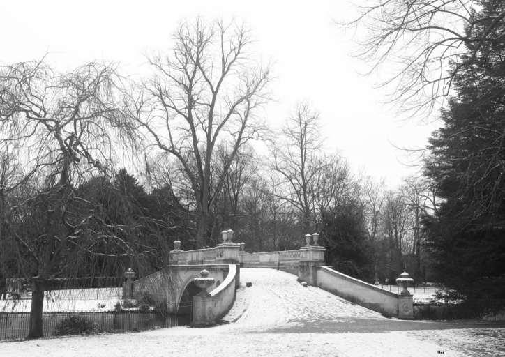 Chiswick Calendar Photographers Jon Perry The Classic Bridge in Winter