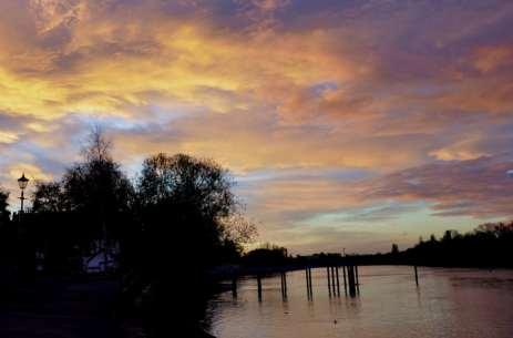 Chiswick Calendar Photographers Marianne Mahaffey Pier at dawn