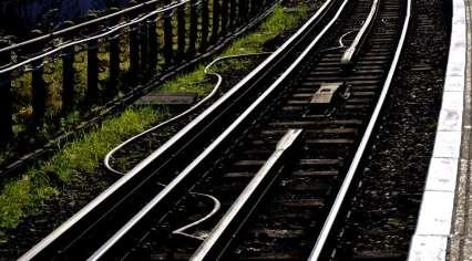 Chiswick Calendar Photographers Marianne Mahaffey Train tracks