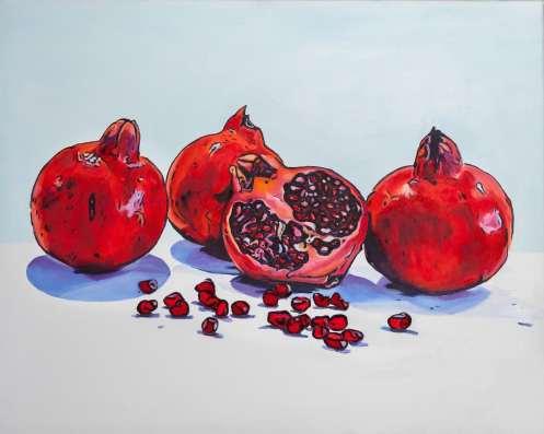 Original painting by Debbie Pearce.