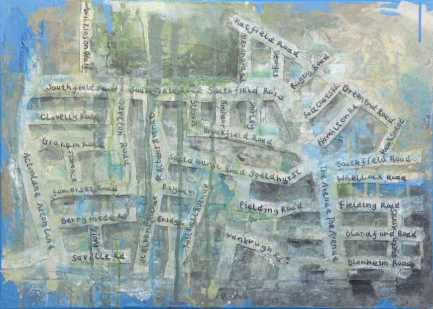 2017 Artists at Home Jane Price - Chiswick map 2