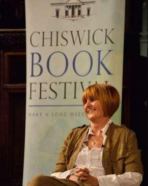 Torin Douglas MBE Mary Portas Shop Girl 2015 Book Festival