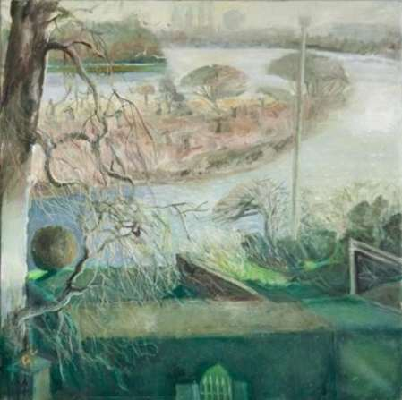 2015 Artists at Home Anthea Craigmyle 3, The Chiswick Eyot in February