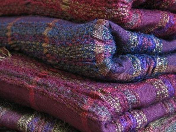 2015 Artists at Home Bobbie Kociejowski 4, Damascus Market, 4 scarves