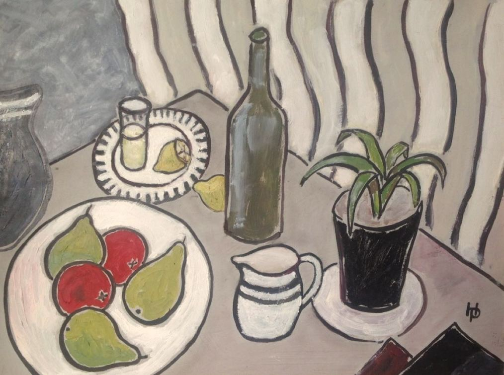 2015 Artists at Home Henrietta Parsons 6, On the Table