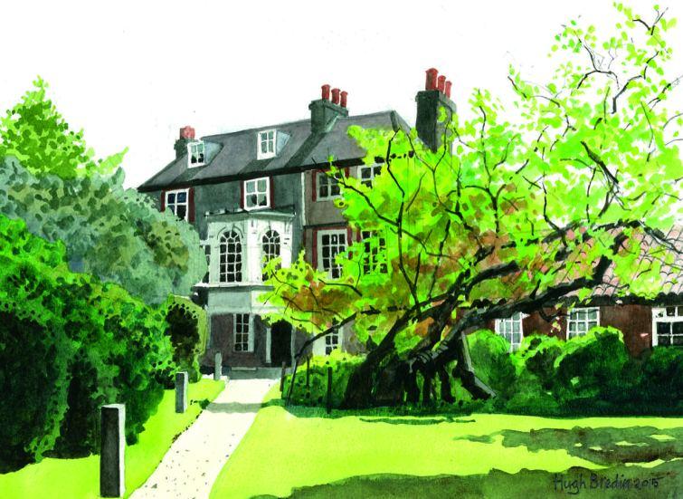 2015 Artists at Home Hugh Bredin 2, Hogarth's House