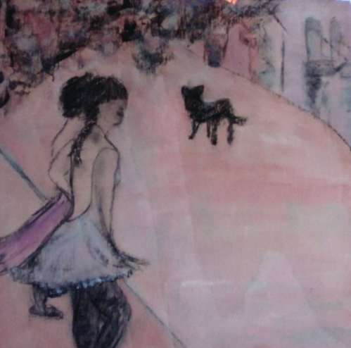 2015 Artists at Home Isobel MacLeod 2, Dancers in the street