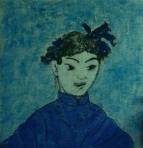2015 Artists at Home Isobel MacLeod 4, Little China Blue