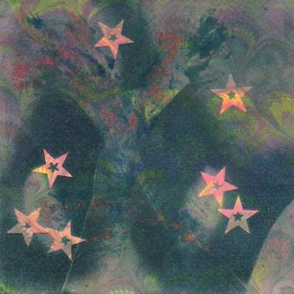 2015 Artists at Home Sally Grumbridge 2, Pink Stars