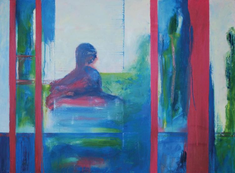 2015 Artists at Home Sally Grumbridge 5, Reflections 3