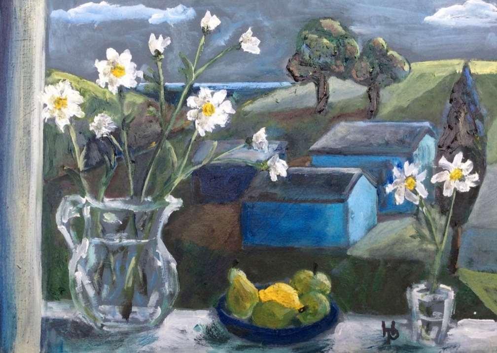 2016 Artists at Home Henrietta Parsons, Blue Sheds