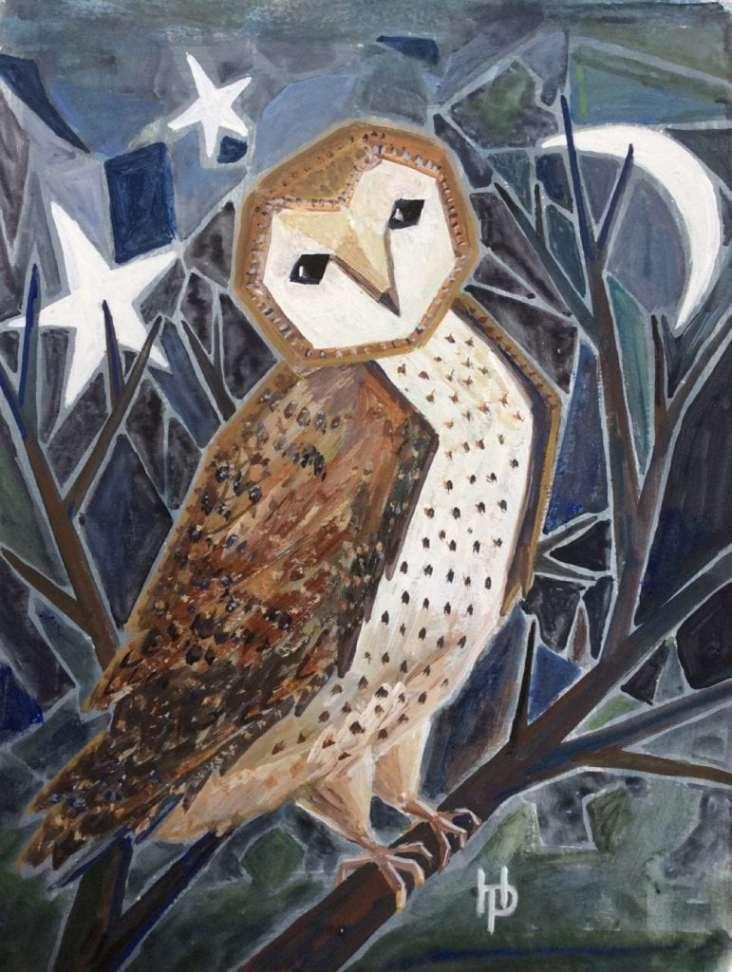 2016 Artists at Home Henrietta Parsons, Night Owl