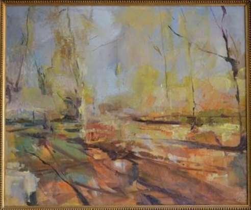 2016 Artists at Home Humphrey Bangham, Hornbeams in Richmond Park