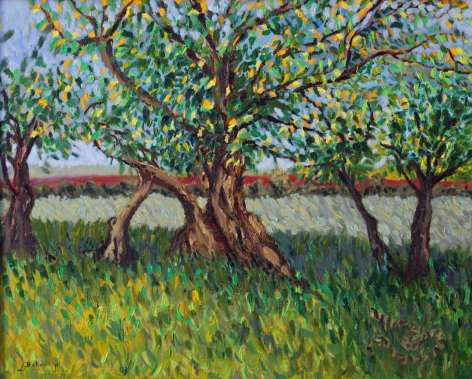 2016 Artists at Home Lorraine Belloni, Trees in Provance crop