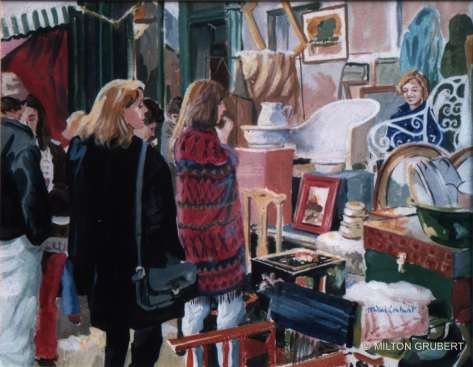2016 Artists at Home Milton Grubert, Portobello Market