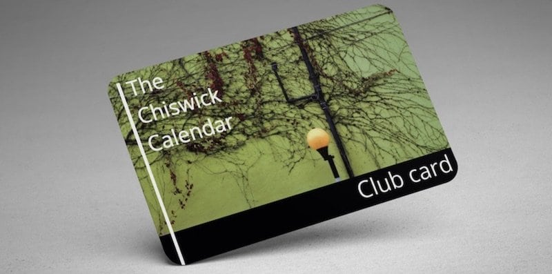 Club Card advertising page