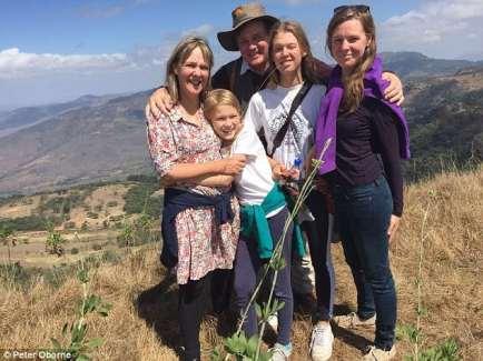 Family holiday in Zimbabwe